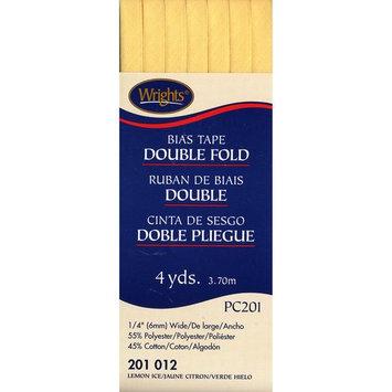 Double Fold Bias Tape 1/4 4 Yards-Lemon Ice