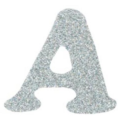 Wright's Iron-On Glitzerz Letters 1-1/4