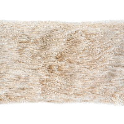 Wright's 4 inch Camel Faux Fur, Multi Color