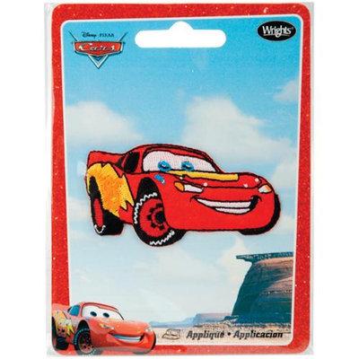 Wright's Disney Cars Iron-On Appliques-Lightning Mcqueen