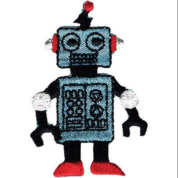 Wright's Wrights Iron-On Appliques-Robot 1-1/4X2 1/Pkg
