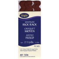 Wright's Wrights Rick Rack Medium Bark 2 1/2 yd.