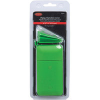 Wright's Wrights Deluxe Bias and Piping Machine 0.18-Inch Tip and Iron Cover - Green