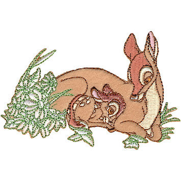 Wright's Disney Bambi And Mother Iron-On Applique