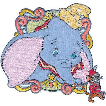 Wright's Disney Dumbo In Circus Car Iron-On Applique