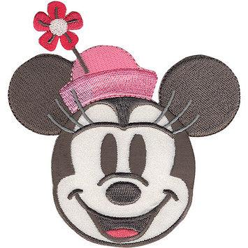 Wright's Disney Mickey Mouse Minnie Head Iron-On Applique
