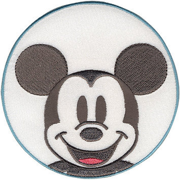 Wright's Disney Mickey Mouse Mickey In Circle Iron-On Applique
