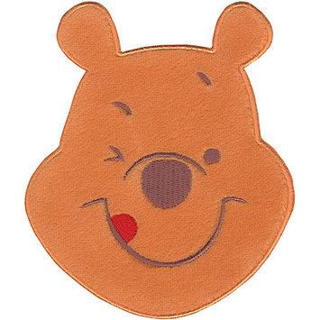 Wright's Disney Winnie The Pooh Smiling Pooh Iron-On Applique