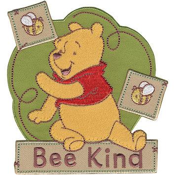Wright's Disney Winnie The Pooh Bee Kind Iron-On Applique
