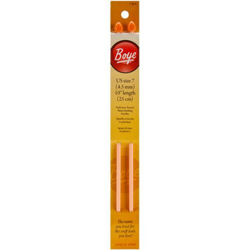 Single Point Plastic Knitting Needles 10-Size 7 075475 Boye
