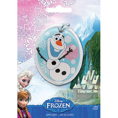 Wright's Disney Frozen Iron-On Applique-Olaf