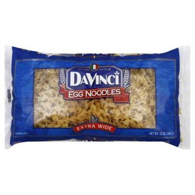 Davinci Gourmet Davinci Extra Wide Egg Noodles, 12 oz, - Pack of 12