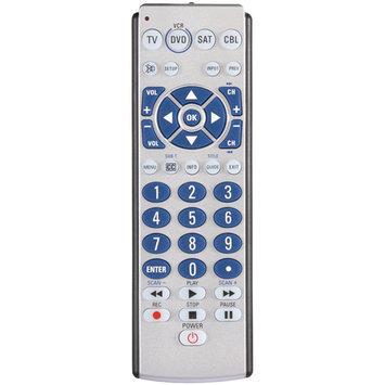 Amertac Zenith Zb410 4 Device Tv/vcr/dvd/sat/cbl/aux 1 Led Ir