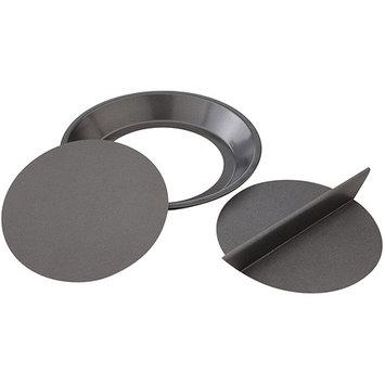 Chicago Metallic Split Decision Nonstick Pie Pan, 9-inch