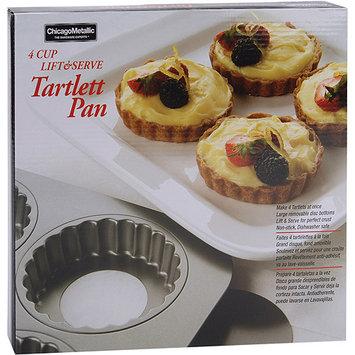 Chicago Metallic Nonstick 4-Cup Tartlet Pan