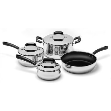 Range Kleen 7-pc. Stainless Steel Cookware Set