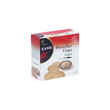 Kehe Distributors KA ME 61297 KA ME RICE CRISP ORIGINAL BROWN - Pack of 6 - 3.7 OZ