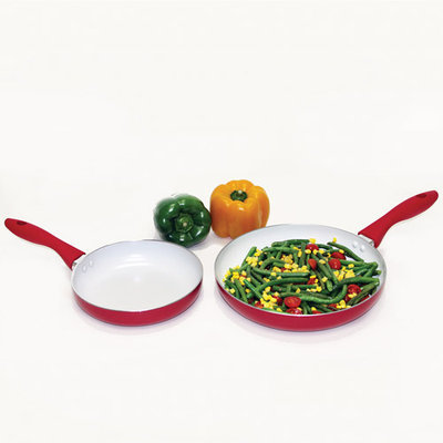 Heuck 2-Piece Non-Stick Skillet Set - Size: 8 and 10