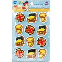 Wilton Icing Decorations 12/Pkg-Jake And The Never Land Pirates