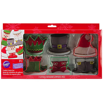 Notions Marketing Cookie Cutter Box Set 7 piece - Characters
