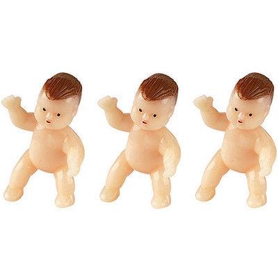 WiltonA Newborn Baby Figurines Favor Accents (Set of 6)