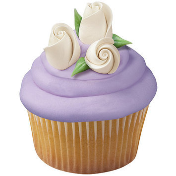 Notions Marketing Icing Roses-Small White #zCN