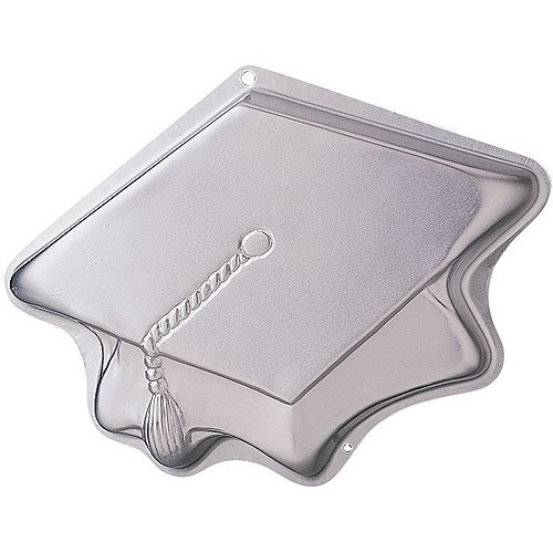 Novelty Cake Pan-Topping Off Success 14-3/4 X11-3/4 X2