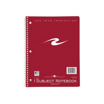 Roaring Spring Paper Products 10021 One Subject Notebook - 70 Sheets Per Book
