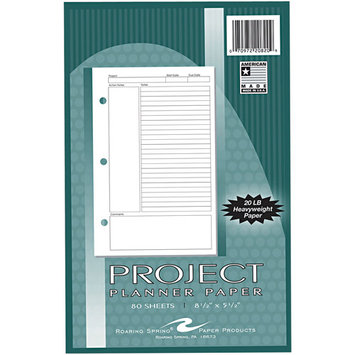 Roaring Spring Paper Products 20820 Project Planner Paper
