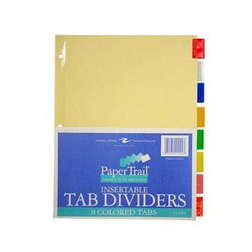 Roaring Spring Paper Products 21124 8 Tab Index Colored