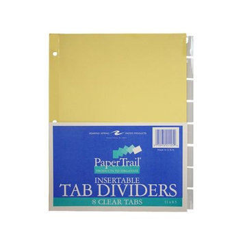 Roaring Spring Paper Products 21125 8 Tab Index Clear