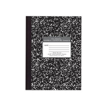 Roaring Spring Paper Products 77460 Hard Cover Marble Comp Book - 24 Per Case