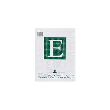 Roaring Spring Paper Products 95582 Engineering Pad - 48 Per Case