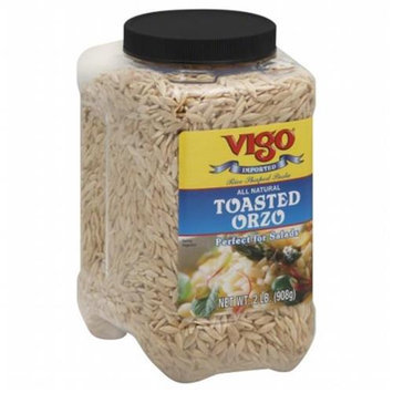 Vigo Industries VIGO 108351 VIGO RICE ORZO TOASTED - Pack of 4 - 1 KG