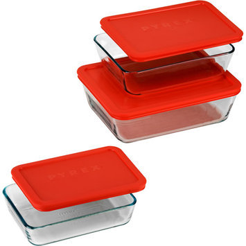 Pyrex 6-piece Storage Dish Value Pack