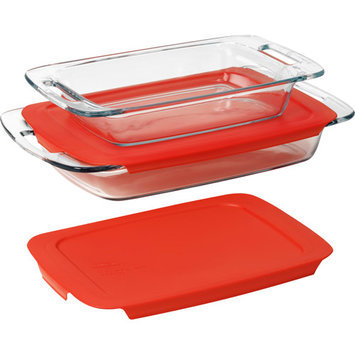 Pyrex Easy Grab 4 Piece Food Storage Container Set