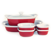 CorningWare Etch 7-pc. Tan Bakeware Set
