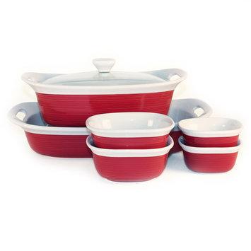 CorningWare Etch 7-pc. Tan Bakeware Set