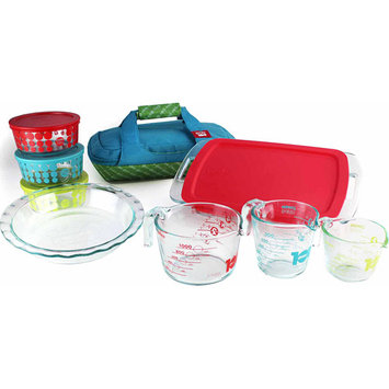World Kitchen Pyrex 100 Year Limited Edition 14-piece Ultimate Glass Prep, Bake and Store Set