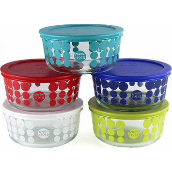 World Kitchen Pyrex 10-piece Simply Store Glass Food Storage Set (100 Year Limited Edition)