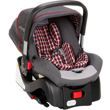 The First Years Contigo Infant Car Seat, Plaid Gray