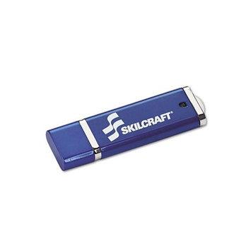 SkilCraft USB Flash Drive w/256 AES Encryption. Each