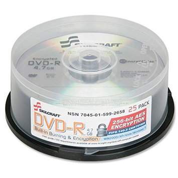Skilcraft DVD Recordable Media - DVD-R - 8x - 4.70