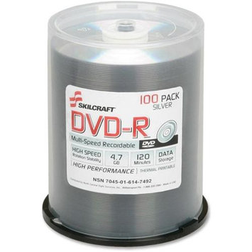 Tional Stock Number Skilcraft DVD Recordable Media - DVD-R - 4.70GB S