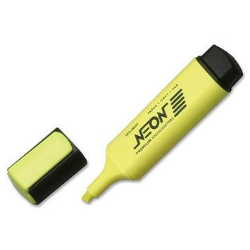 SKILCRAFT Neon Yellow Highlighter
