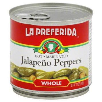 La Preferida Pepper Jlpno Whole 11 Oz. Case of 12