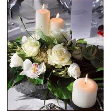 Will & Baumer 106739 Candle White Pillar 3 x 6
