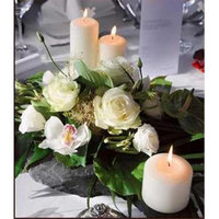 Will & Baumer 106973 Candle White Pillar 3 x 12