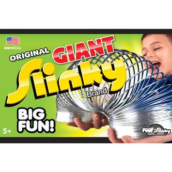POOF-Slinky 140BL Metal Original Giant Slinky in Box Silver