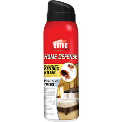 Ortho 18 Oz Aerosol Home Defense Max Dual-Action Bedbug Killer (0192910)